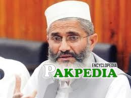 Siraj ul Haq is a Islamist politician