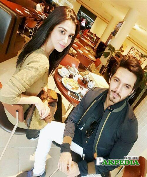 Wahaj Ali and Maya Ali