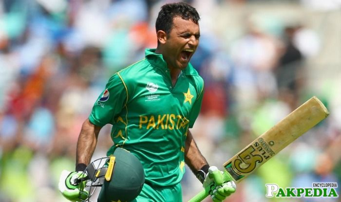 Fakhar Zaman Very Happy