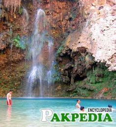 Pir Ghaib Waterfalls are waterfalls in situated in the Bolan Valley, 70 km from Quetta, in Balochistan, Pakistan