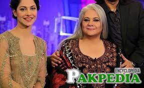 Shehnaz Sheikh on the stage