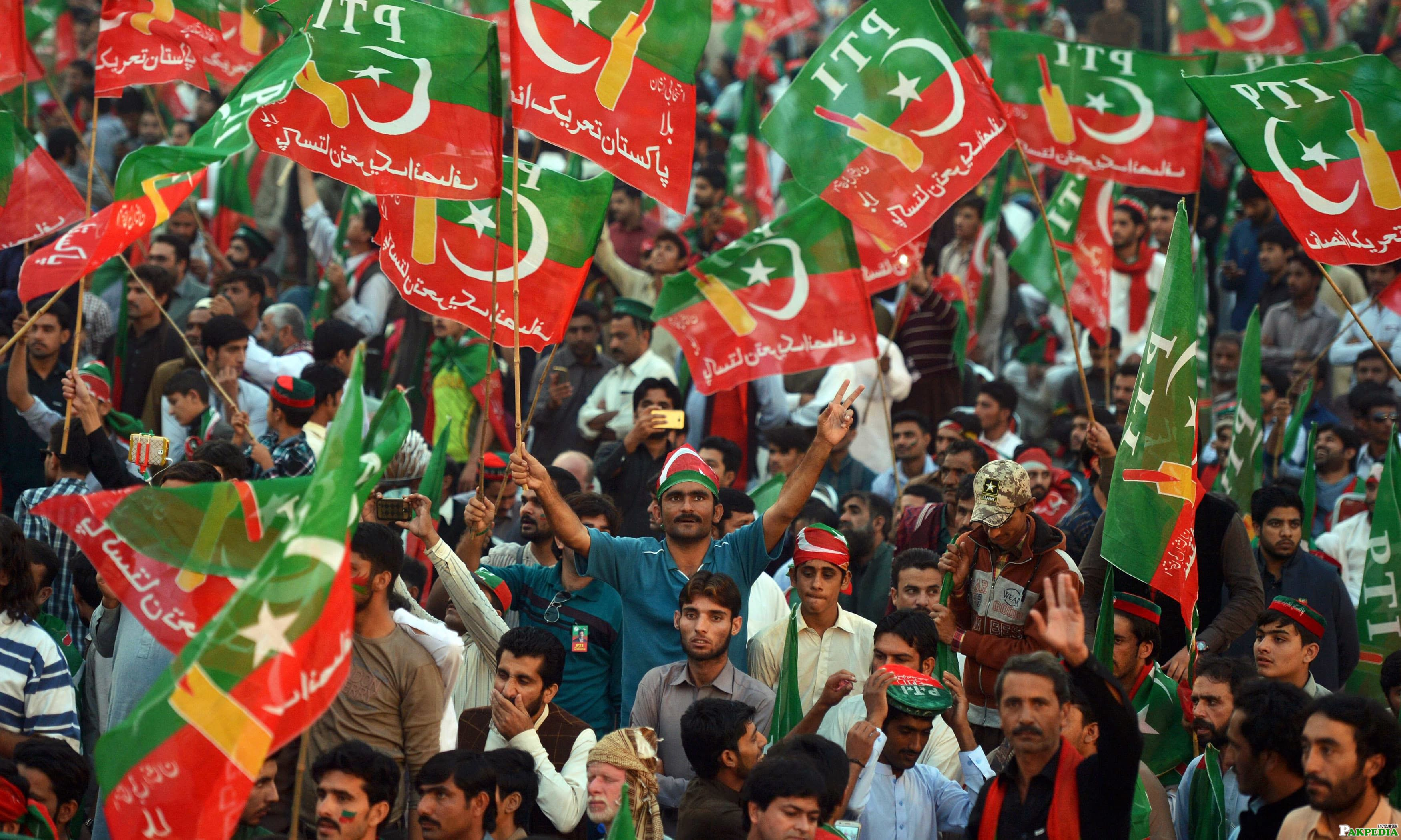 PTI Supporter Photo