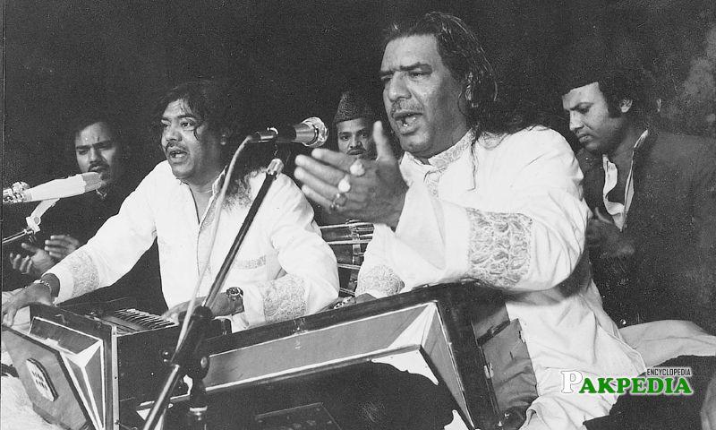 While Singing Qawwali