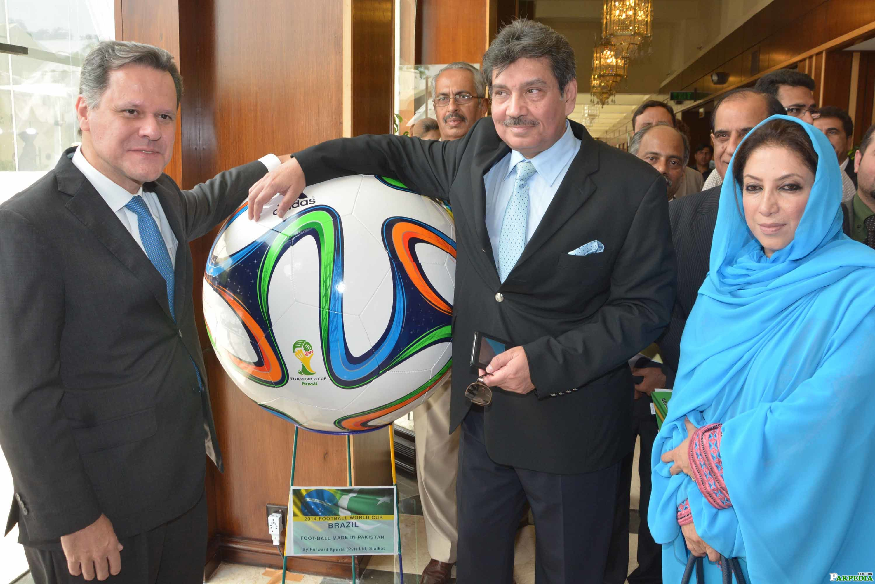 Embassy of Brazil at Football World cup Ceremony