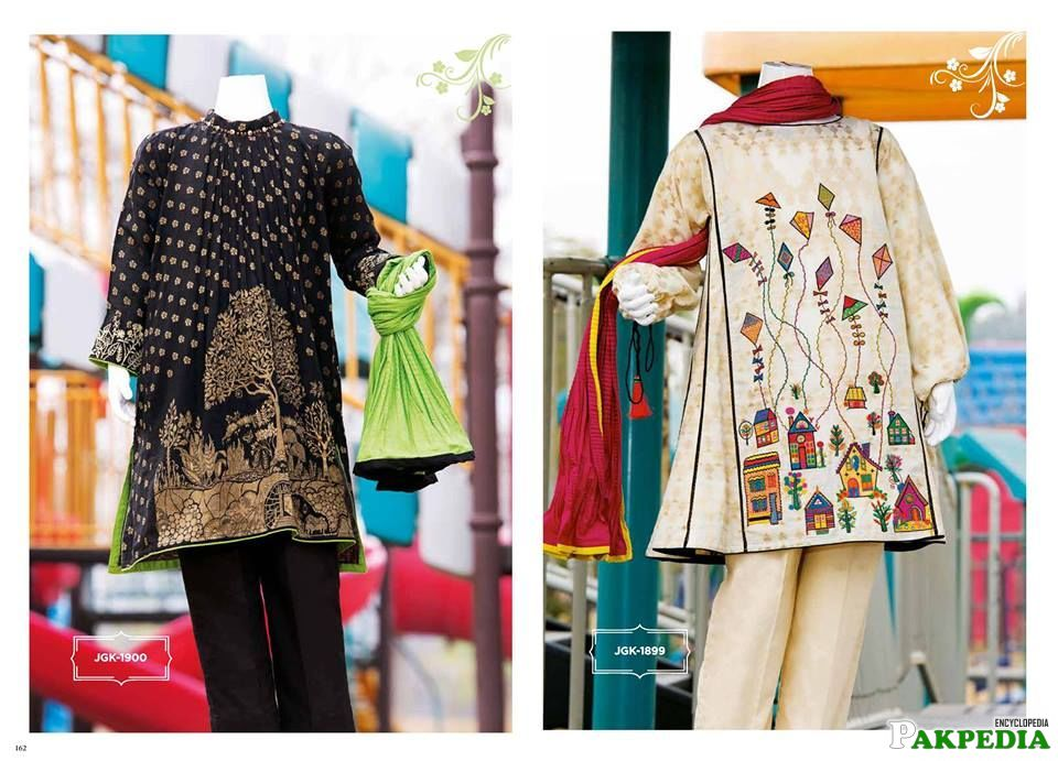 Junaid Jamshed Lawn 2016 spring collection includes the revolutionary dress designs by the brand featur
