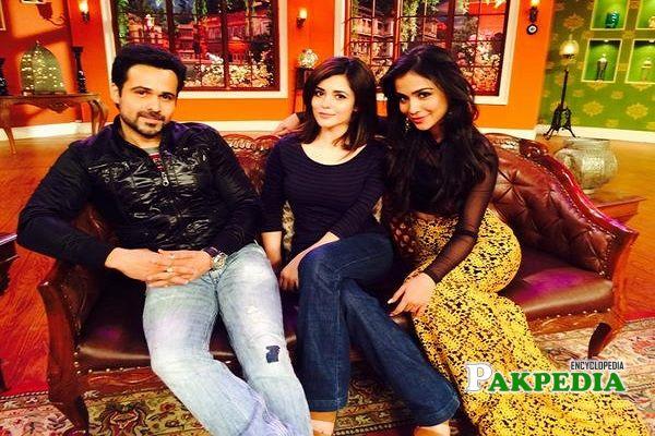 Ammara with Imran Hashmi and Humaima Malik