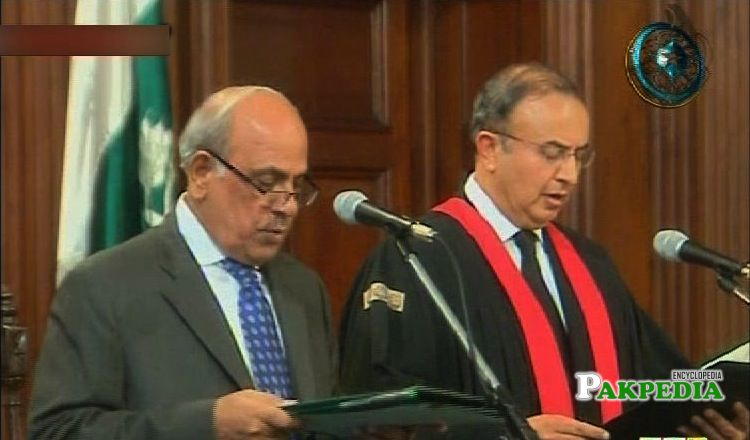 Syed Mansoor appointed as SC judge