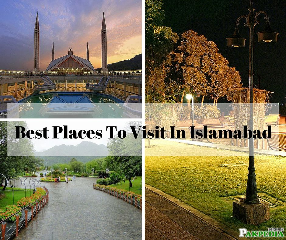 Best Places Islamabad