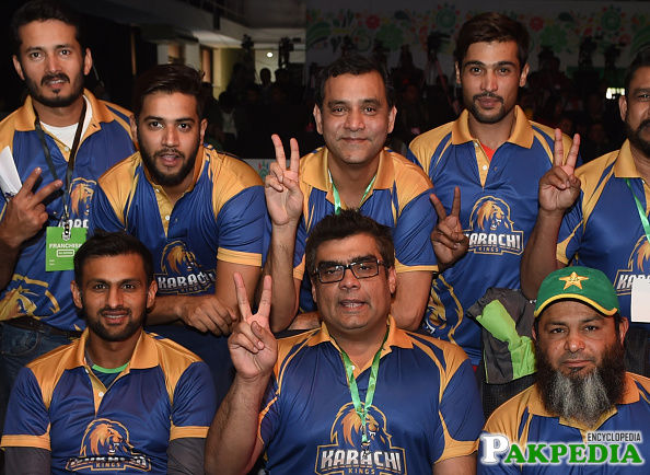 Karachi Kings Team Members