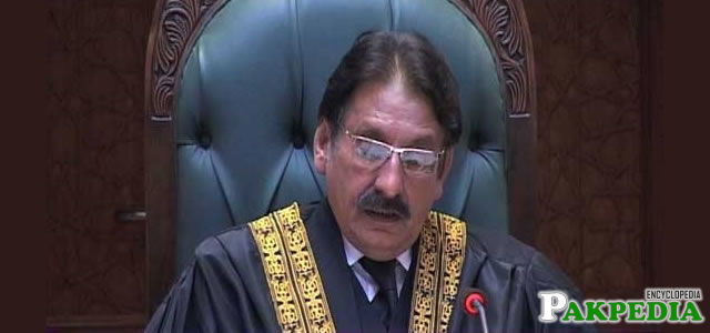 Former Chief Justice of Pakistan
