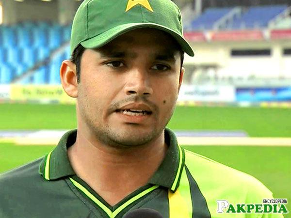 Azhar Ali in Ground