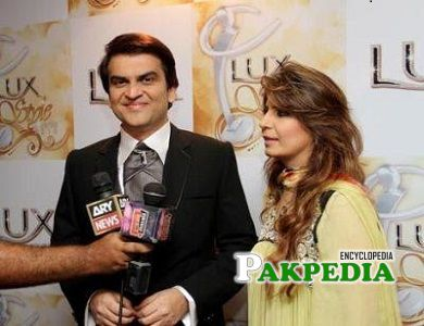 Abdullah Kadwani at the Lux style awards