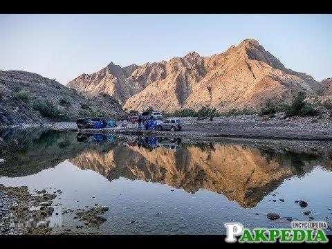 Exploring Kharari river, Lasbela