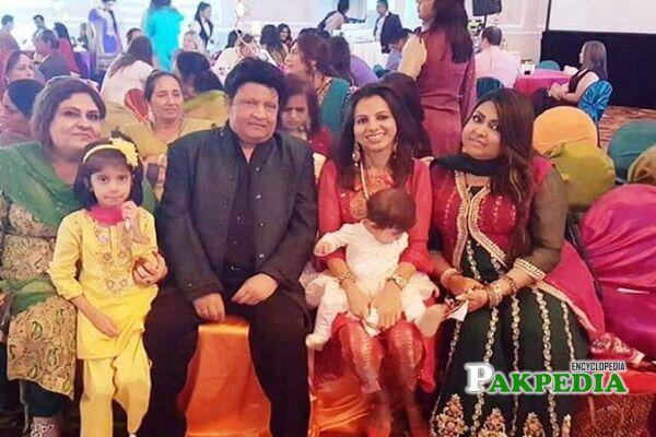 Umer Sharif Family