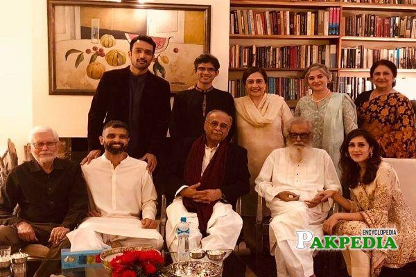 Mira Sethi Family