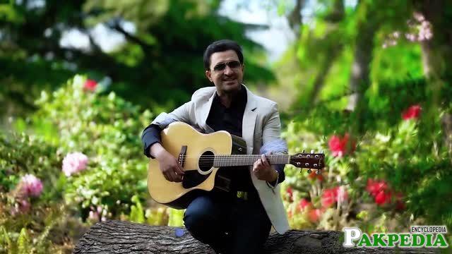 Raheem Shah Afridi in his solo Album