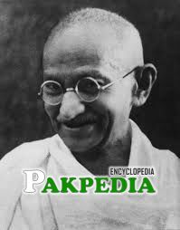 Gandhi's portrait