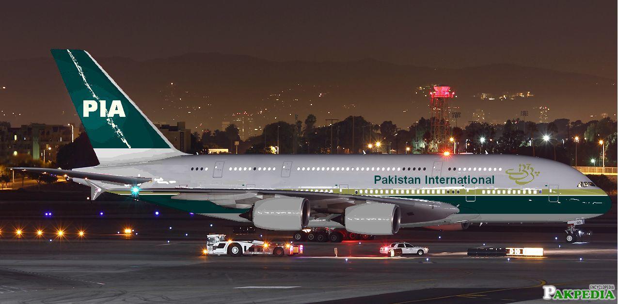 Pakistan International Airlines Double Dacker