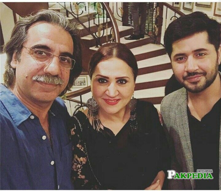 Ahson talish with Imran ashraf