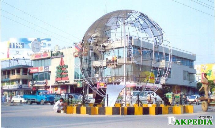 Quaid-e-Azam Square Mirpur