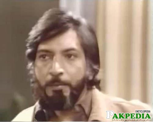 Talat Hussain Warsi in old drama serial