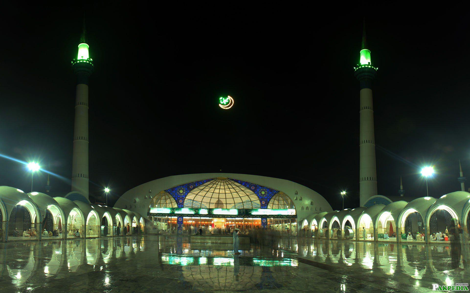 Night View Data Darbar Complex