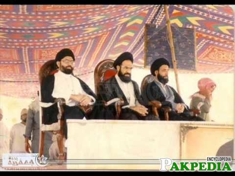 Shaeed Allama with aAllama sajid naqvi