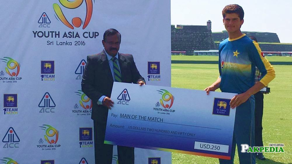 Youth Asia Cup Man of the Match