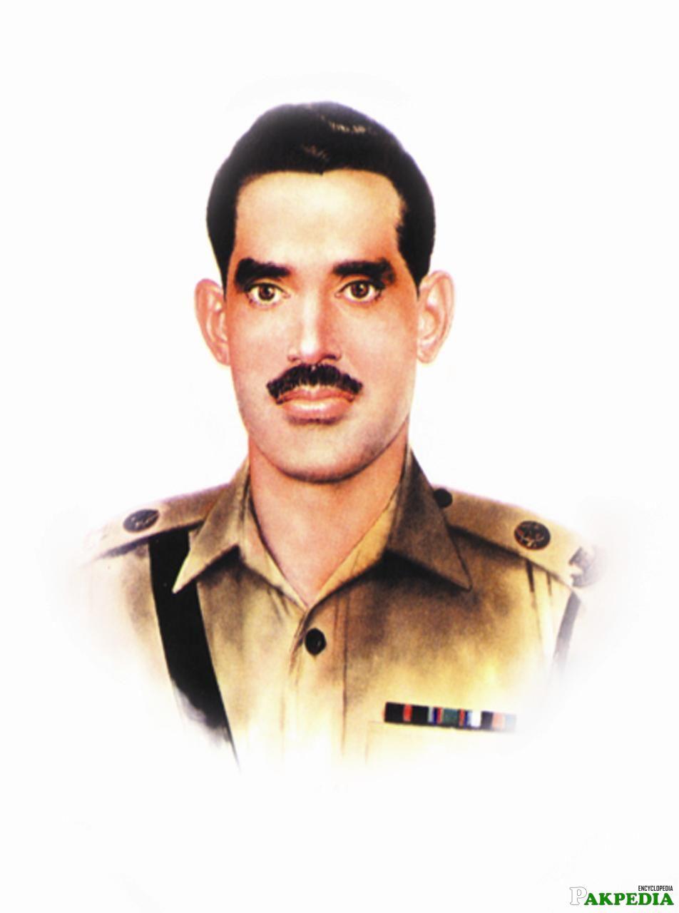 Raja Muhammad Sarwar super hero