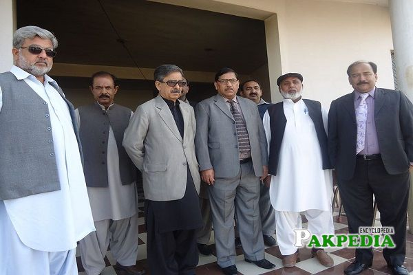 Nishat Khan Daha served as chairman of standing Committee on health