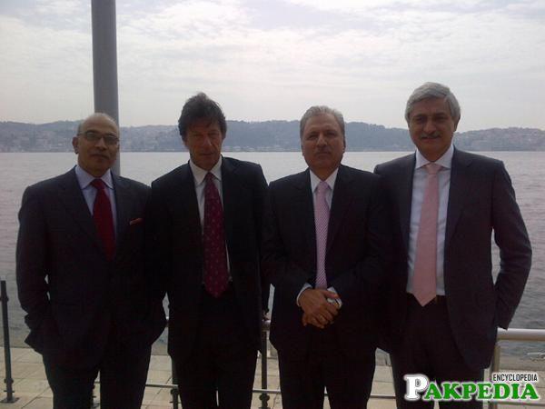 Jahangir Tareen Turkey Visit