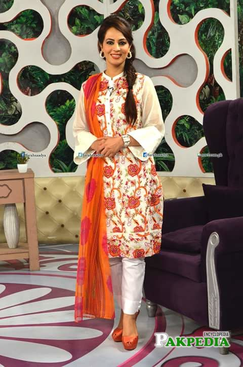 Morning Show Host Farah