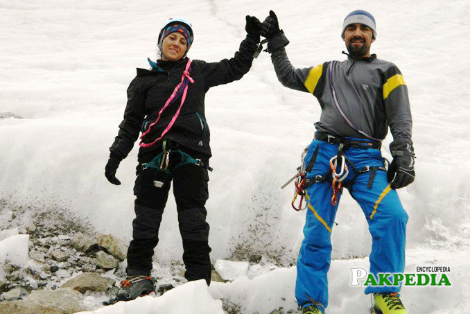 Mirza Ali and Samina baig became first Siblings ever in Pakistan to climb 7 summits in 7 continents.