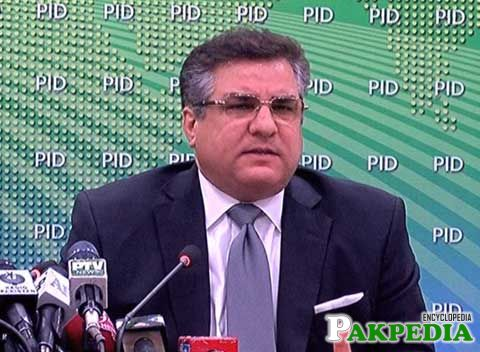 Daniyal Aziz at PID Media talk