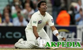 Umar Akmal on his Knees