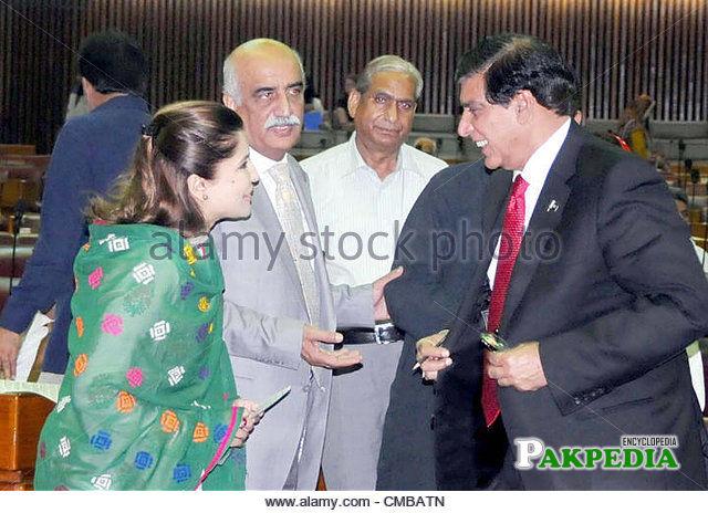 With Raja pervaiz Ashraf