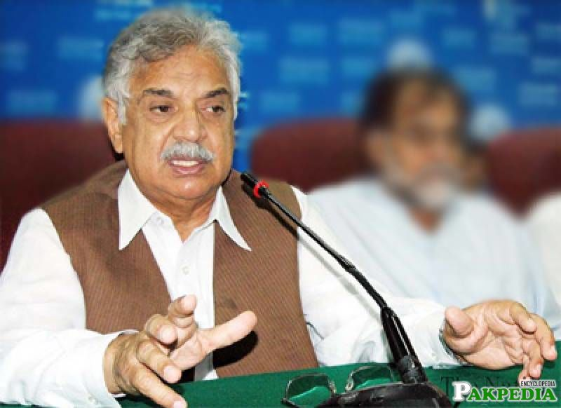 Iqbal Zafar Jhagra on Speech