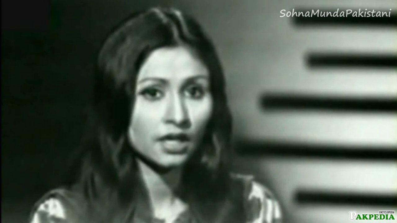 Black&White photo of Nayyara Noor