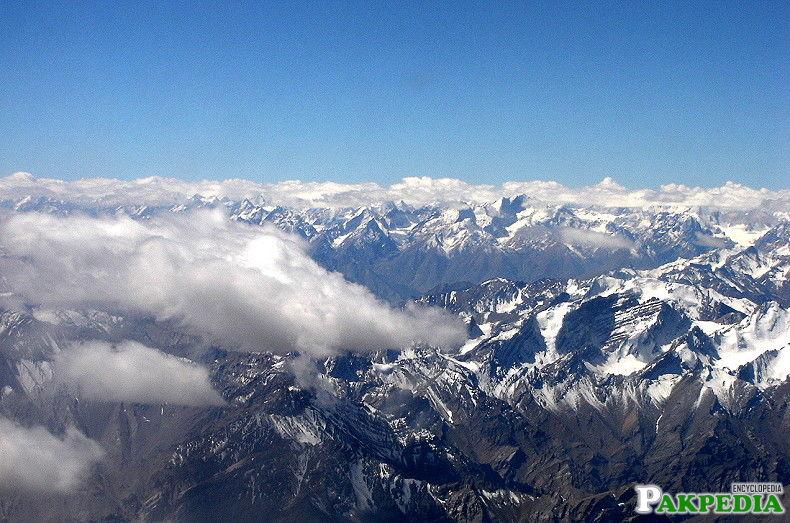 Himalayas mountains area
