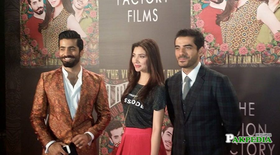 Adeel hussain during the promotion of his film