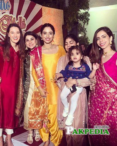 Zainab Abbas Family