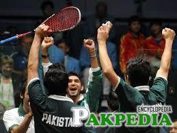 Squash Sports Pakistani Team