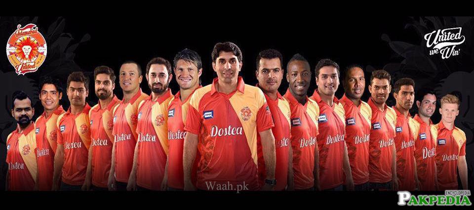 Islamabad United Team