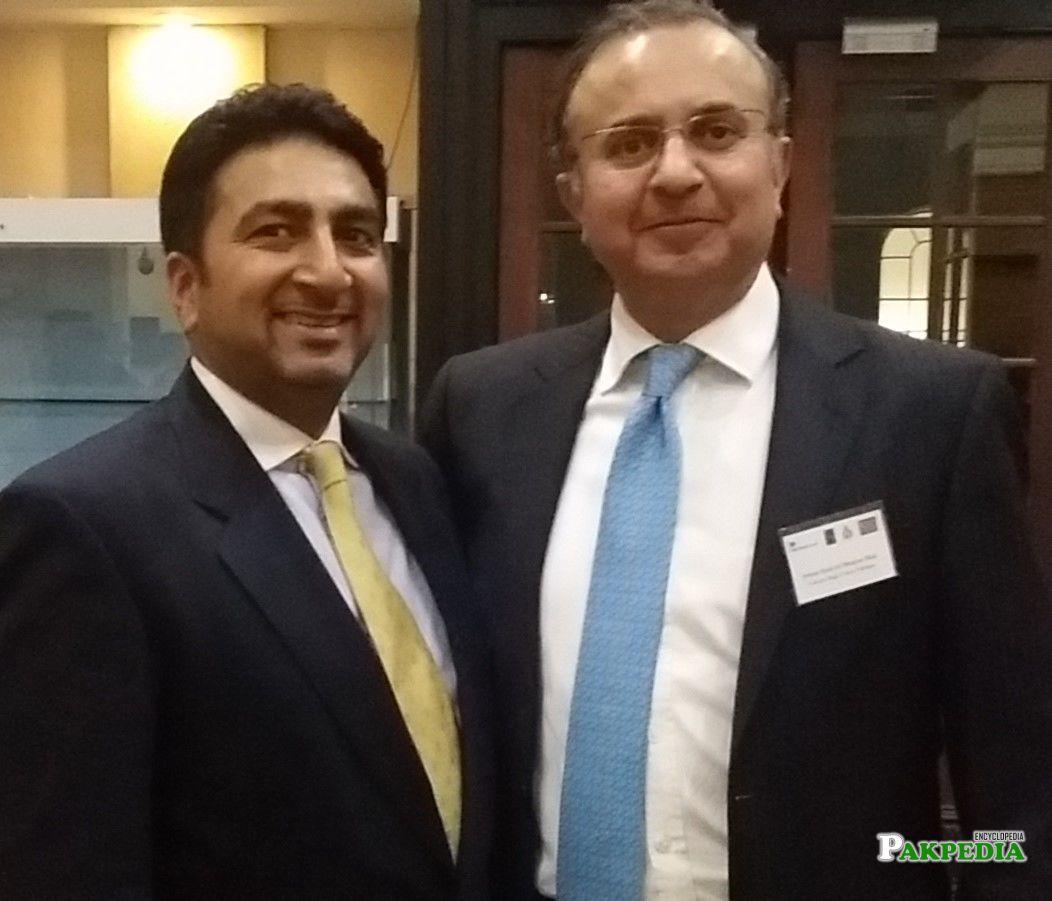 with Barrister Tahir ashraf