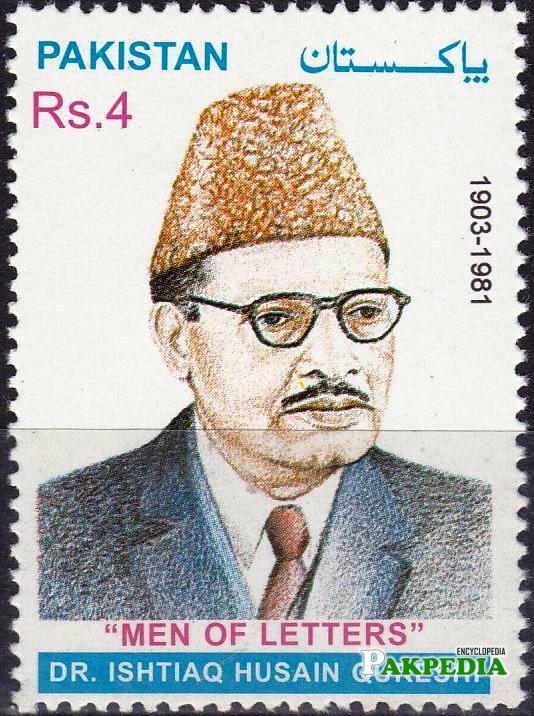 Pakistan Stamps 2001 Dr Ishtiaq Hussain Qureshi