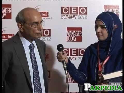 Muhammad Mansha Interviewing