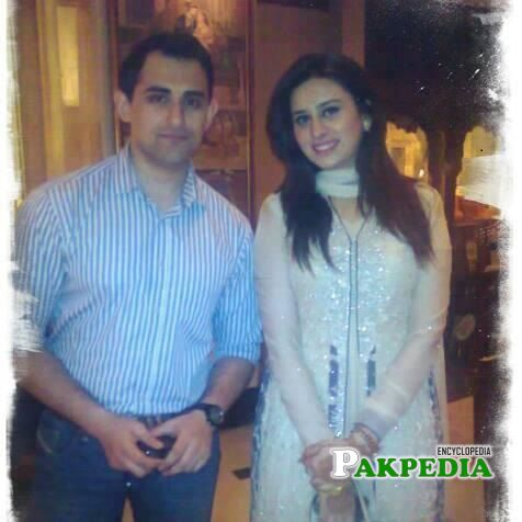 Madiha with her first husband