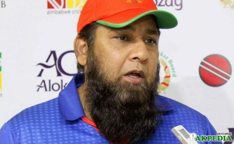 Inzamam-ul-Haq is now Coach