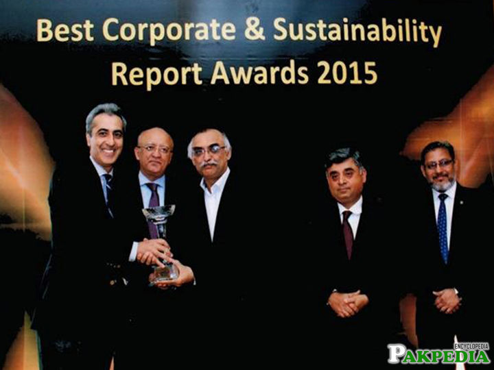 Best corporate report award