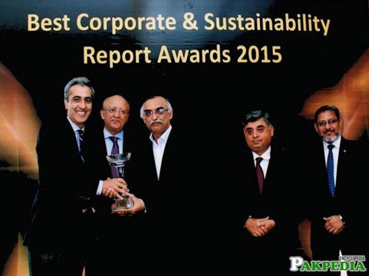 Best corporate report award